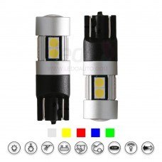 Philips 3030SMD Best -Match T10 LED Light for Fiat